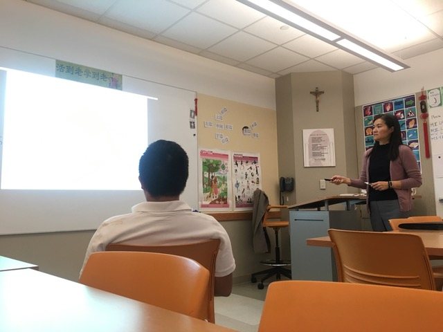 Ms.+Yu+Brings+Chinese+Culture+and+Language+to+Archmere