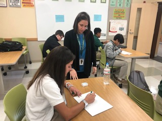 New York City Teacher Gets Comfortable in the Suburbs