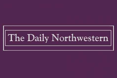 The Daily Northwestern facing double-sided backlash