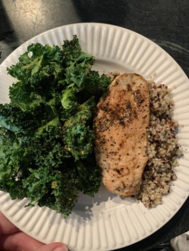 Chicken, Quinoa & Kale
