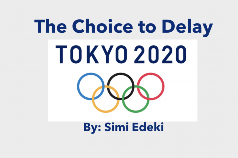 The Choice to Delay the Tokyo 2020 Olympics